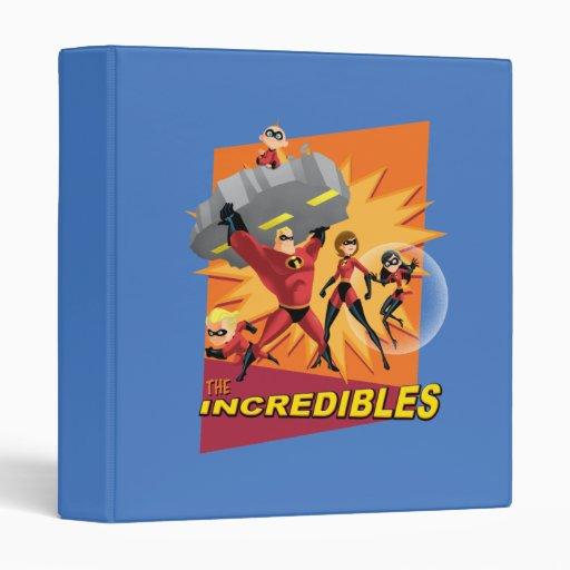 "1"" el Incredibles Carpeta 1"""