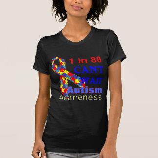 1 EN 88 NO PUEDE ESPERAR conciencia del autismo Camiseta