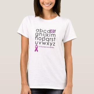 1 en la camiseta de 26 mujeres