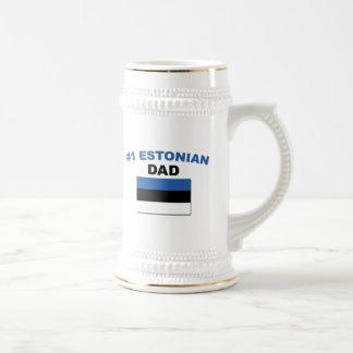 #1 Estonian Dad Beer Stein