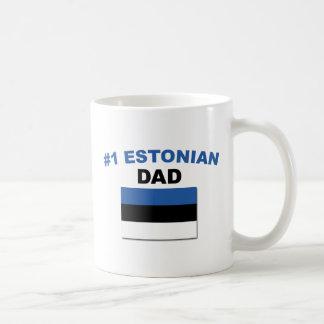 #1 Estonian Dad Coffee Mug