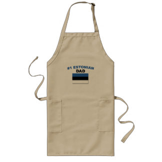 #1 Estonian Dad Long Apron