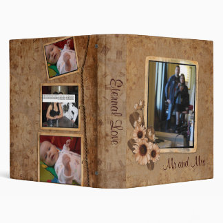"1"" Eternal Love Photo Album Vinyl Binders"