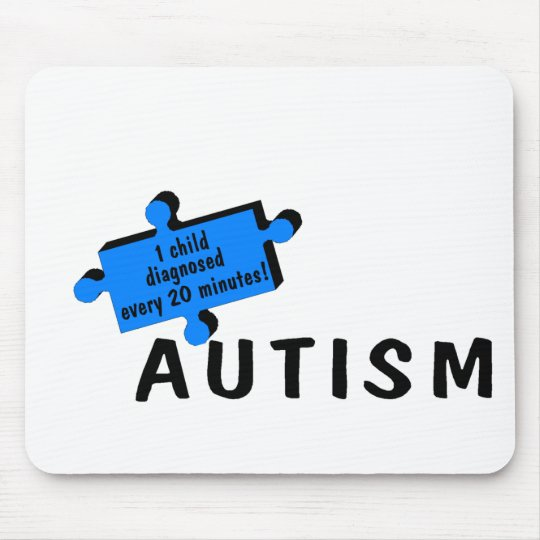 1 Every 20 Minutes (Blue Piece) Mouse Pad