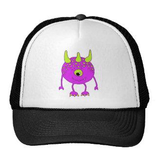 1 eye - One EYE - FlipFlop Monster in Rare Purple! Trucker Hat
