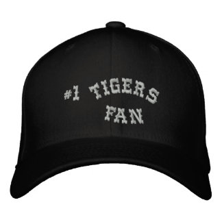 #1 Fan Black and Silver Basic Flexfit Wool Embroidered Baseball Hat