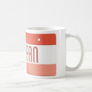 #1 Fan Coffee Mug