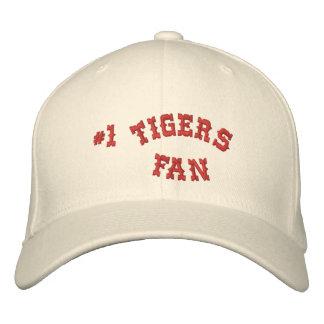 #1 Fan Cream and Crimson Basic Flexfit Wool Embroidered Baseball Hat