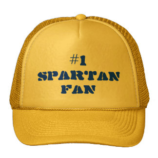 #1 fan espartano Hat* Gorra