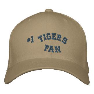 #1 Fan Old Gold and Navy Basic Flexfit Wool Baseball Cap