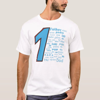 #1 Father T-Shirt