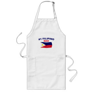 #1 Filipino Dad Long Apron