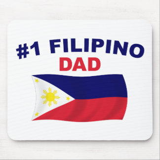 #1 Filipino Dad Mouse Pad