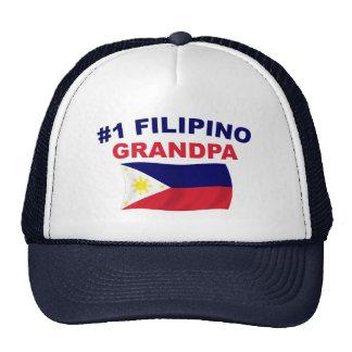 #1 Filipino Grandpa Trucker Hat