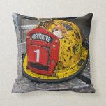 #1 Firefighter Pillow