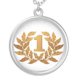 №1, first place winner! round pendant necklace