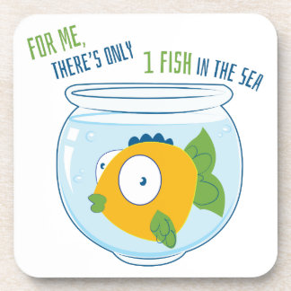 1 Fish Drink Coasters