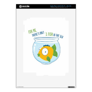 1 Fish Decals For iPad 3