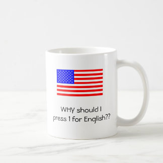 1 for English Coffee Mug