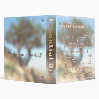 "1"" Frankincense (Boswellia) Tree w/essential oils 3 Ring Binder"