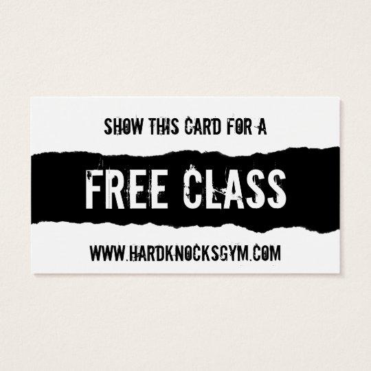 free class pass