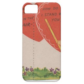 1 free vintage printable - cute kids valentine.jpg iPhone SE/5/5s case