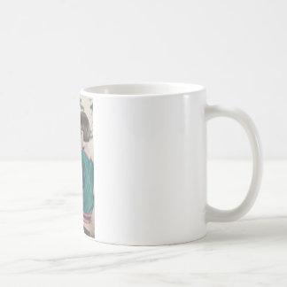 1 free vintage printable - cute tinted girl photo mug