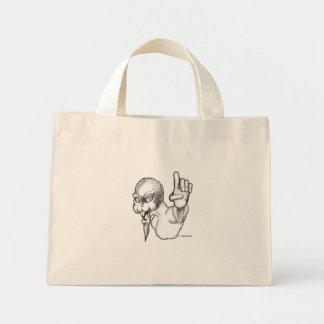 #1 Furry Freak Mini Tote Bag
