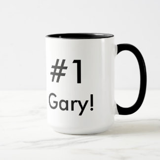 #1 Gary Superior Performer Mug