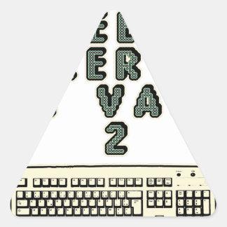 1 GEEK AZERY is worth 2 of them - Plays of motsT Triangle Sticker