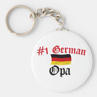 #1 German Opa Keychain