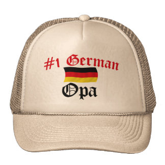 #1 German Opa Trucker Hat