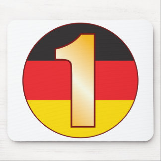 1 GERMANY Gold Mouse Pad