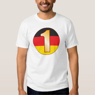 1 GERMANY Gold T-Shirt