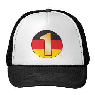 1 GERMANY Gold Trucker Hat