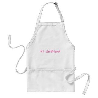 #1 Girlfriend Adult Apron