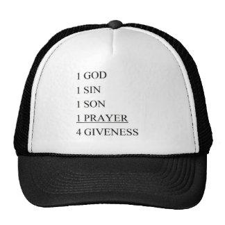1 GOD TRUCKER HAT