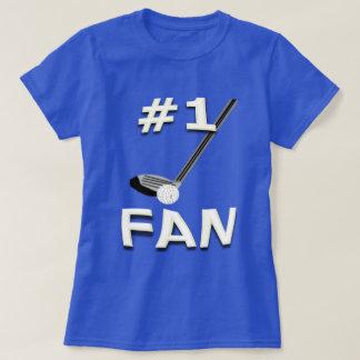 #1 Golf Fan T-Shirt