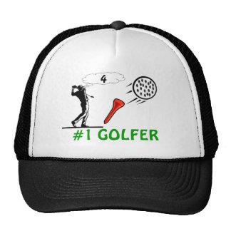 #1 golfer hat