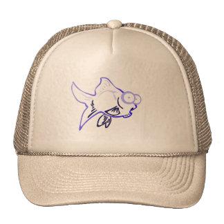 1 gorra de béisbol de los pescados