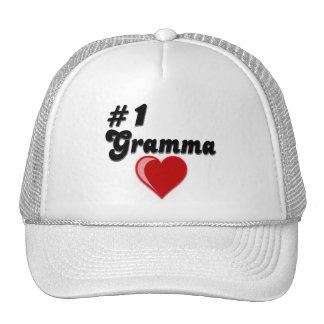 #1 Gramma Grandparent's Day Trucker Hat