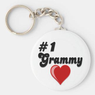 #1 Grammy Grandparent's Day Gifts Keychain