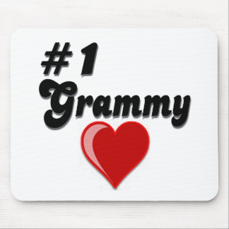 #1 Grammy Grandparent's Day Gifts Mouse Pad