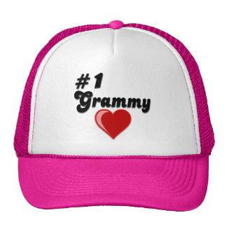 #1 Grammy Grandparent's Day Gifts Trucker Hat