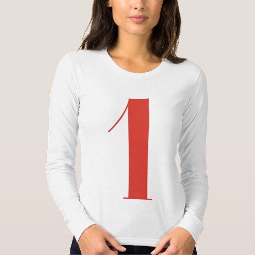 1 grande: Jeanne Moderno Lettres Remera