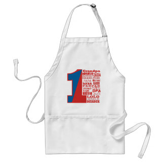 #1 Grandfather Adult Apron