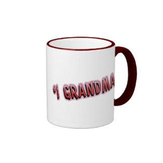 #1 Grandma Coffee Mug