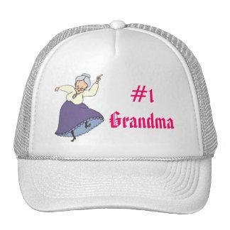 #1 Grandma - Customized Trucker Hat