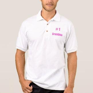 #1 grandma polo shirt