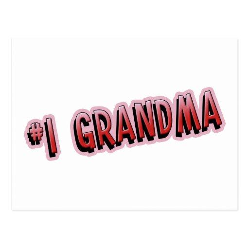#1 Grandma Postcard